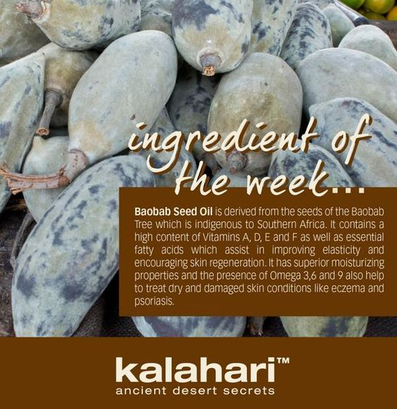 The benefits of baobab oil
