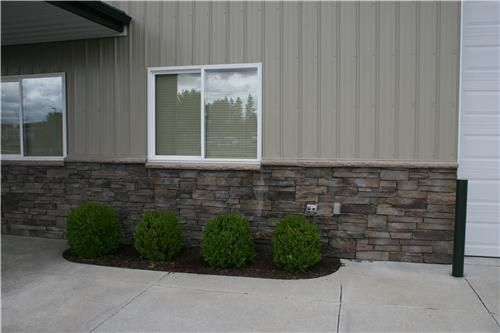 Metal Siding With Stone On Pole Barn Dimensions
