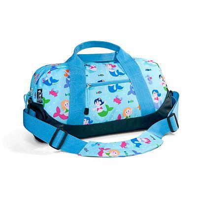 Kids mermaids duffel bag by Olive Kids!