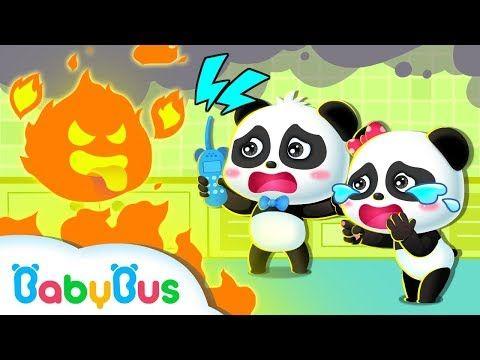 وحش النار المخيف أغاني الأمن والسليم أغاني الأطفال بيبي باص Babybus Arabic Youtube Child Safety Rescue Team Baby Panda