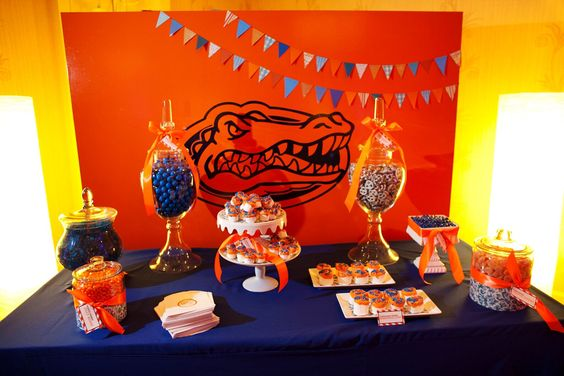 #GatorPartyDecorations