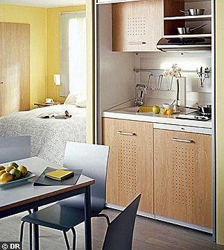 bloc cuisine pour studio pas cher. Black Bedroom Furniture Sets. Home Design Ideas
