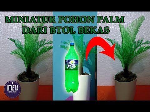 Keren Ide Kreatif Membuat Miniatur Pohon Dari Botol Bekas Diy
