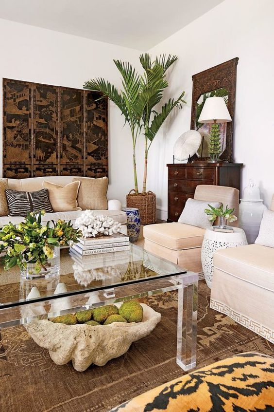 10 Amazing Tropical Decor For Living Room