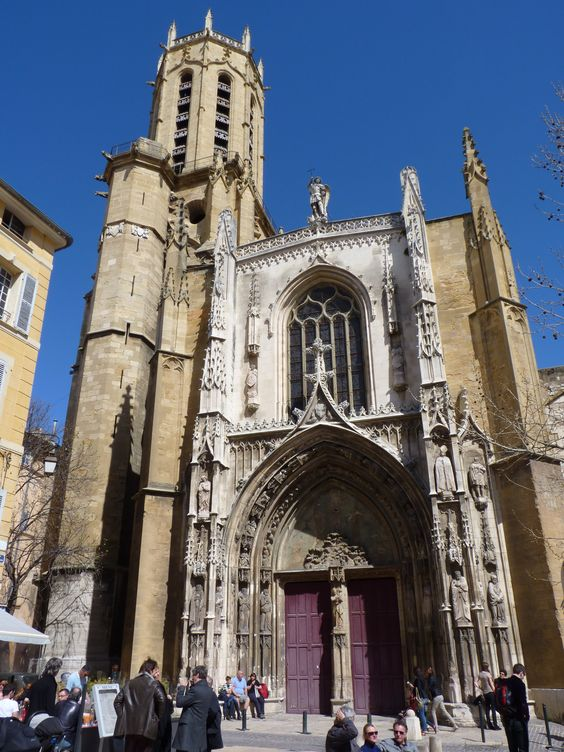 Aix en provence catedral de saint sauveur francia 2013 provenza pinterest saints - Medecin de garde salon de provence ...