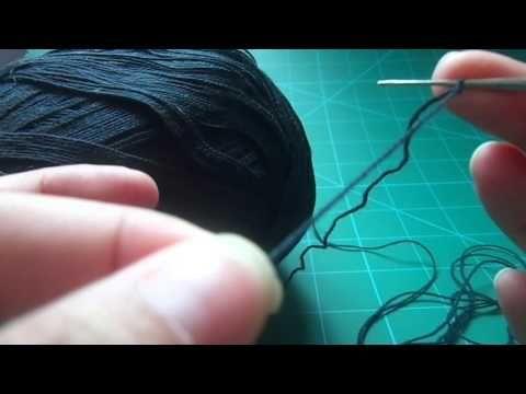 Crochê...Aprenda a fazer correntinhas 1