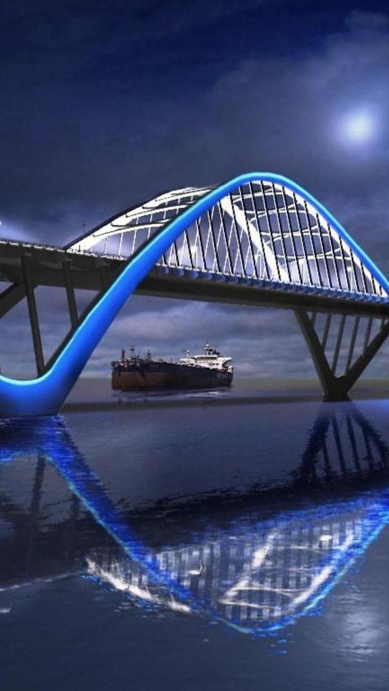Bridge, Bahrain ...........