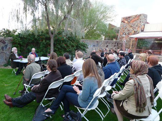 Seeds of Enlightenment  By Simon De Aguero  Neuroscience and the built world meet in the Arizona desert