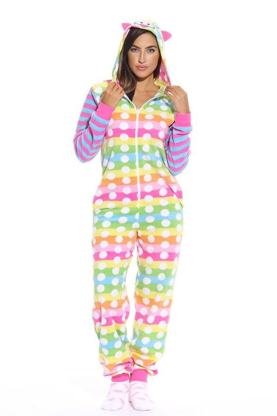 Rainbow Fish Onesie Adult Animal Onesies Pinterest