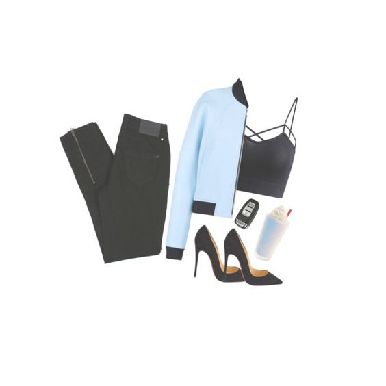 """""""Untitled #389"""" by itsluisalopez ❤ liked on Polyvore featuring beauty, Balenciaga, Christian Louboutin and By Malene Birger"""