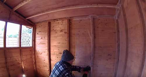 How To Insulate A Wooden Shed Wooden Sheds Insulating A Shed Home Insulation