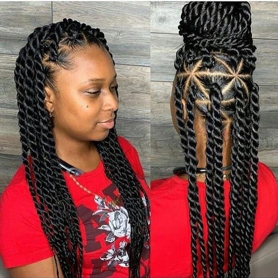 2019 Elegant Braids for Beautiful Ladies