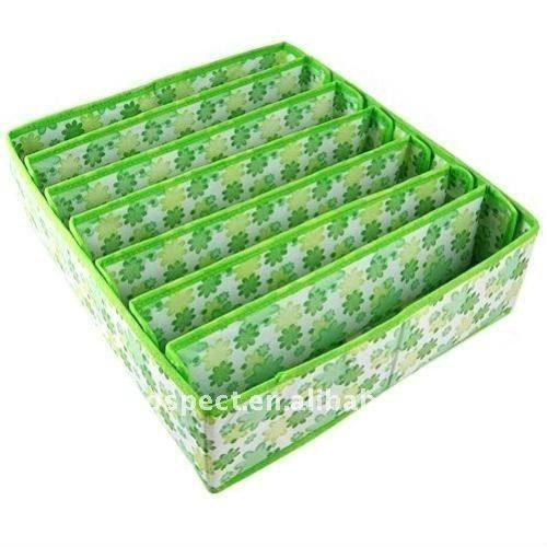 Impreso tejido de almacenamiento bajo la cama organizador for Cajas bajo cama carrefour