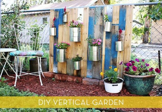 How To: Make a Vertical Garden from Reclaimed Wood