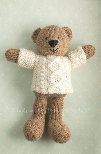 Knitted Teddy Bear Pattern For Charity : knitted bears Knit / Crochet Inspirations Pinterest Bears, So Cute and ...