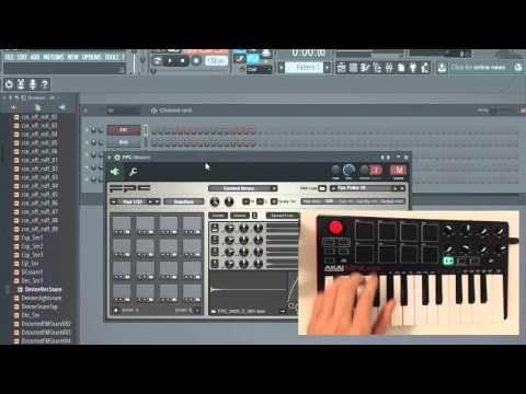 13 Akai Mpk Mini Mk2 And Fl Studio 12 Pads Transport Setup Youtube Akai Studio Mini