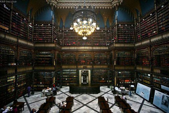 Real Gabinete Português de Leitura – Rio de Janeiro, Brazilia