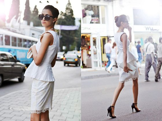 Diaries of vacation: Totally white in Yalta (by Tina Sizonova) http://lookbook.nu/look/4021022-Diaries-of-vacation-Totally-white-in-Yalta