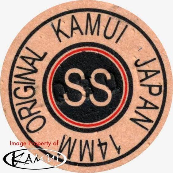 1 Kamui Brown Super Soft Pool Cue Tip-New Red Ring (Super Soft=SS) Free Shipping #Kamui