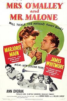 Mrs. O'Malley and Mr. Malone - starring Marjorie Main and James Whitmore