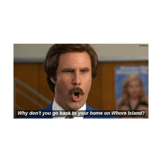 Ron Burgundy Hey everyone, come and see how good I look! ❤ liked on Polyvore featuring subtitles, pictures, quotes, backgrounds and funny