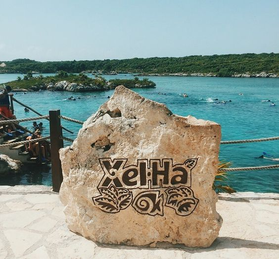 A Day at Xel Ha in Tulum, Mexico