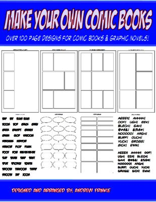 make your own comic books page design templates and tools for comics and manga from velerion. Black Bedroom Furniture Sets. Home Design Ideas
