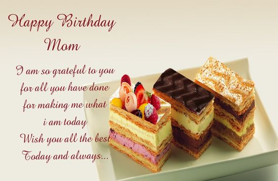 Happy Birthday Messages for Mother with images