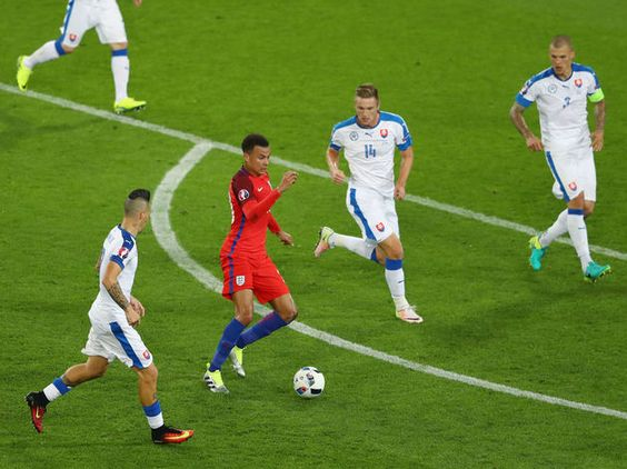 Slovakia Barricade Proves to be Englands Undoing in Mondays Euro 2016 Group Clash