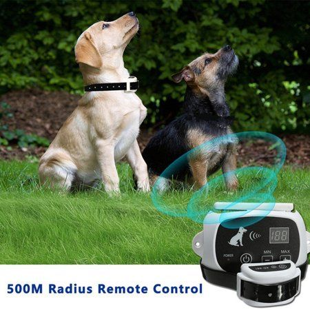 Dog Training Collar Re And Rainproof Remote Lcd For 3 Dog Shock