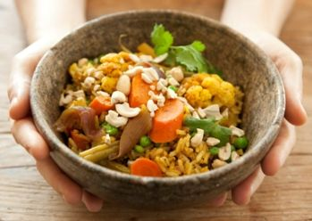 Vegetable Biryani #Recipe -- Inspired by a Whole Planet Foundation microcredit client in India. #vegetarian