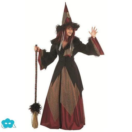 Disfraz de bruja auténtica para mujer