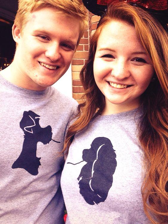 DIY Disney couple's shirts!