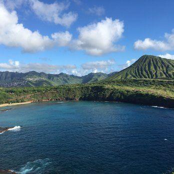 Hanauma Bay Trail - Honolulu, HI, United States. Haunama bay & kokohead
