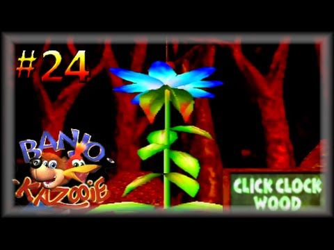 Banjo Kazooie 100 Lets Play The Fall Has Come Our Plant Has Grown Part 24 60fps Banjo Kazooie Banjo Youtube