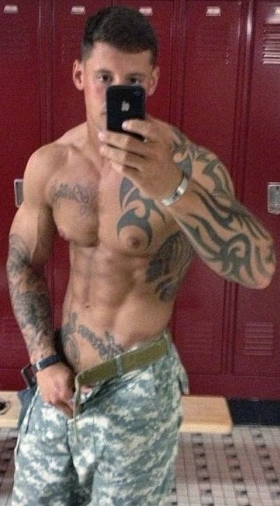 gay military tattooed
