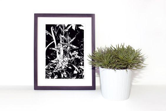 Digital Art Download Floral Wall Art  Home Decor by GawkStationery