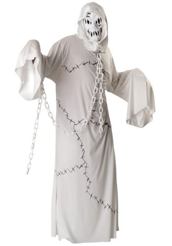 Adult Ghost Costume $26.99