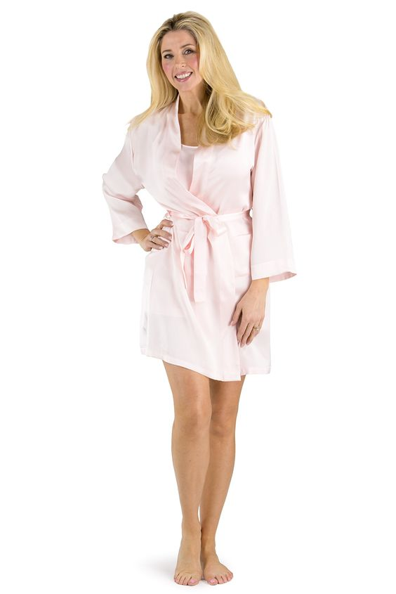 Fishers Finery Women's 100% Pure Mulberry Silk Robe, Uncompromised Luxury at Amazon Women's Clothing store: Bathrobes