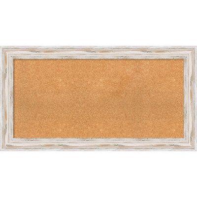 "Beachcrest Home Marion Cork Bulletin Board Size: 23.13"" H x 43.13"" W x 2"" D"