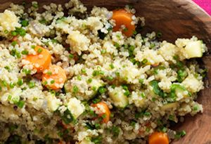 Dr. Oz' wife Lisa's Quinoa with Vegetables and Herbs Recipe