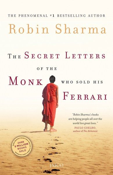 The Secret Letters Of The Monk Who Sold His Ferrari By Robin