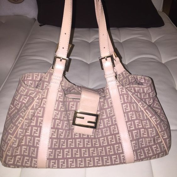 6992f0b17ed4 ... italy womens handbags leather bags fendi reserved fendi authentic pink  monogram bag this is authentic and