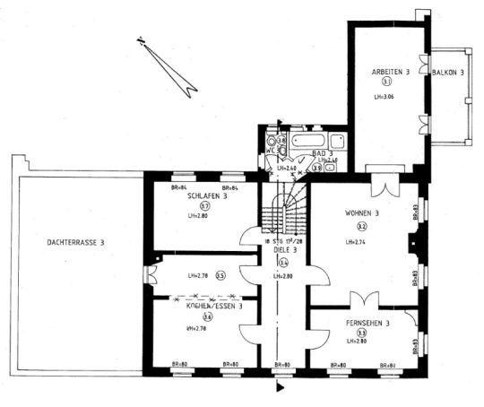 Voj Immobilien Denkmalgeschutztes Mehrparteienhaus Immobilien Haus Grundriss