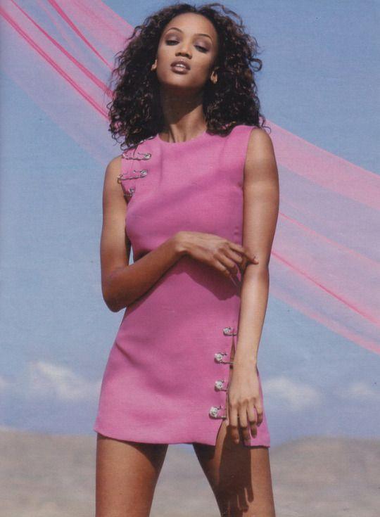 Tyra Banks for Gianni Versace 1994'