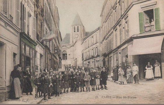 rue Saint-Blaise - Paris 20ème