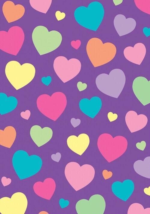 Hearts In Purple Shared By Rayane Vital On We Heart It Wallpaper Cute Girly Heart Wallpaper Wallpaperc Valentines Wallpaper Iphone Wallpaper Heart Wallpaper