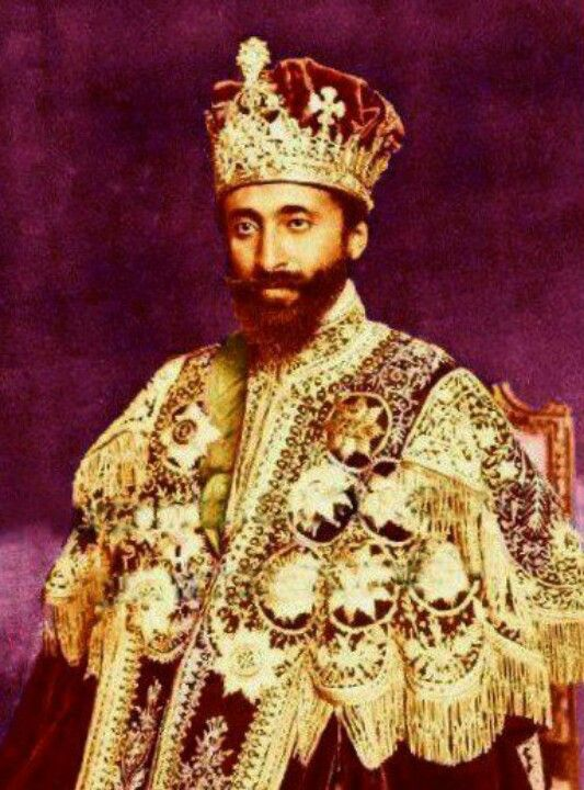 Haile selassie, Emperor and Ethiopia on Pinterest