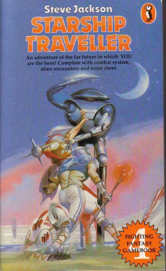 Starship Traveller, Fighting Fantasy gamebook #4.