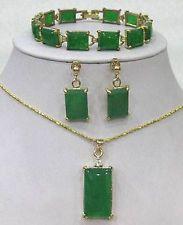 Unique Jewelry - Jewelry green jade dragon phoenix amulet pendant necklace  free chain